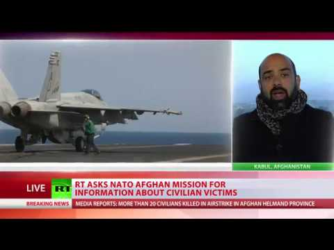 Сivilians reportedly killed in Afghanistan airstrike, NATO-led mission investigates