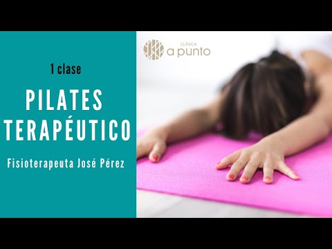 Clase 1 Pilates terapéutico. Fisioterapeuta José Pérez