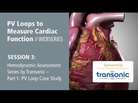 Hemodynamic Assessment Series by Transonic -- Part 1: PV Loop Case Study