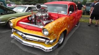 2016 Adirondack Nationals Car Show in Lake George New York