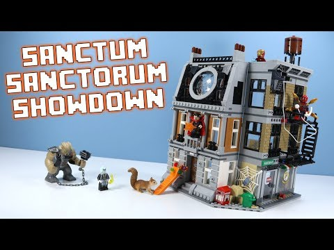 LEGO Avengers Infinity War Sanctum Sanctorum Showdown Speed Build