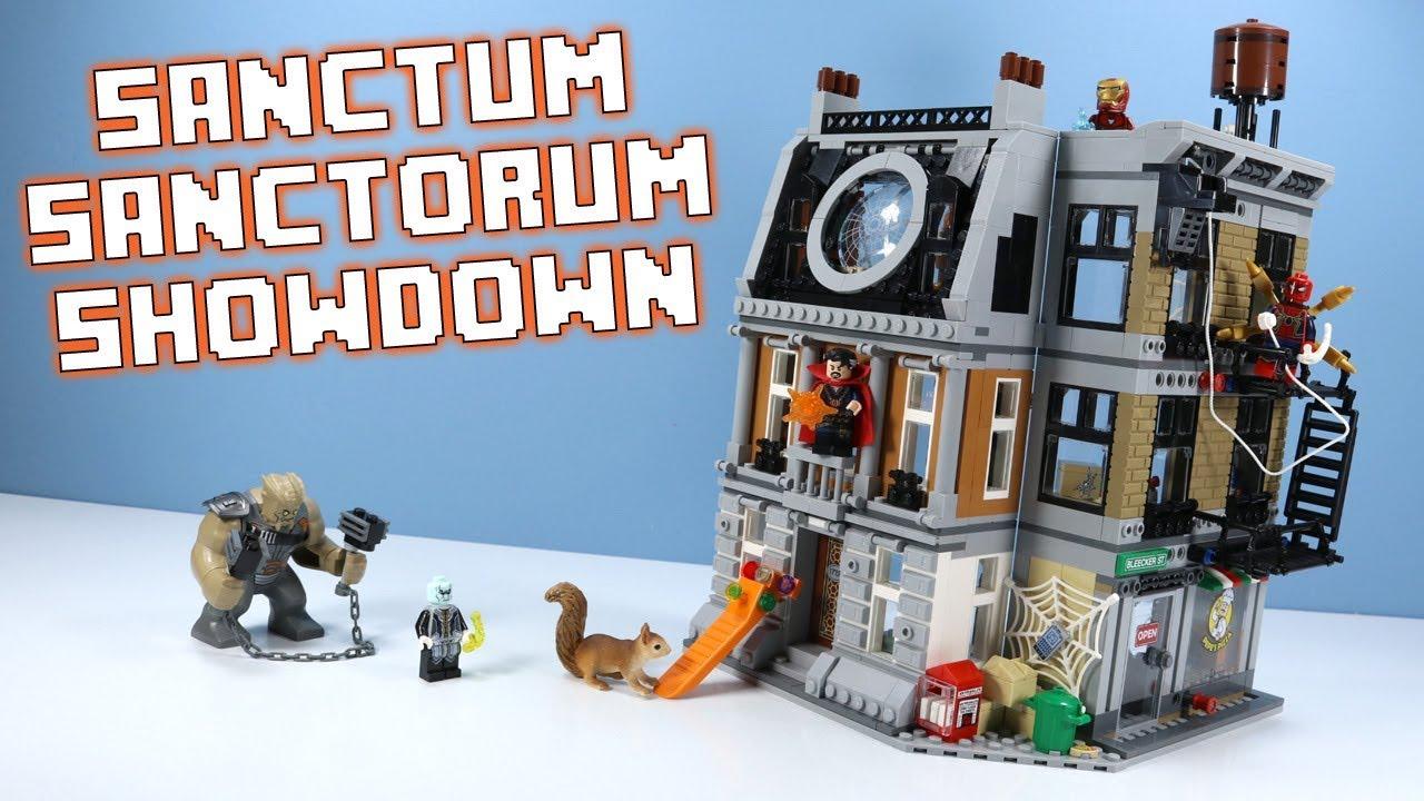 LEGO Avengers Infinity War Sanctum Sanctorum Showdown Speed Build