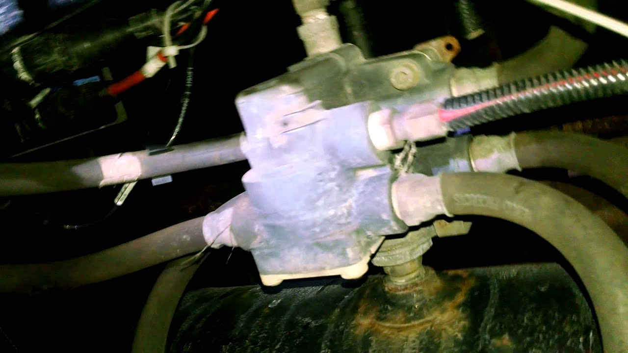 hight resolution of trailer air valve