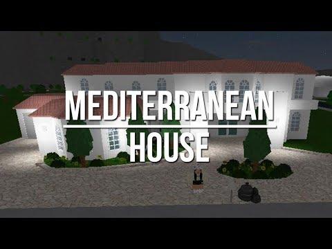 $20 000 Modern House Build Roblox Bloxburg Mansions Iimadisparkles Roblox Welcome To Bloxburg Mediterranean House 20k Youtube