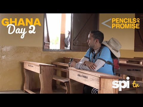 Day 2 in Ghana, Africa - Pencils of Promise School Opening Celebrations! - SPI TV Ep. 20