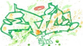 Step By Step How To Draw Graffiti Letters - Write Epic In Graffiti For Beginners