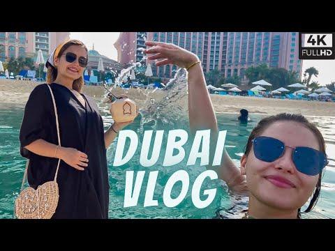 THE BEST HOTEL IN DUBAI – Atlantis Hotel – DUBAI VLOG – 4K – 2021 – فندق اتلانتس- دبي جزيرة النخلة