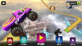 Crazy Monster Truck Legends 3D HD Android IOS Gameplay - Kids Truck - Funny Car Videos For children