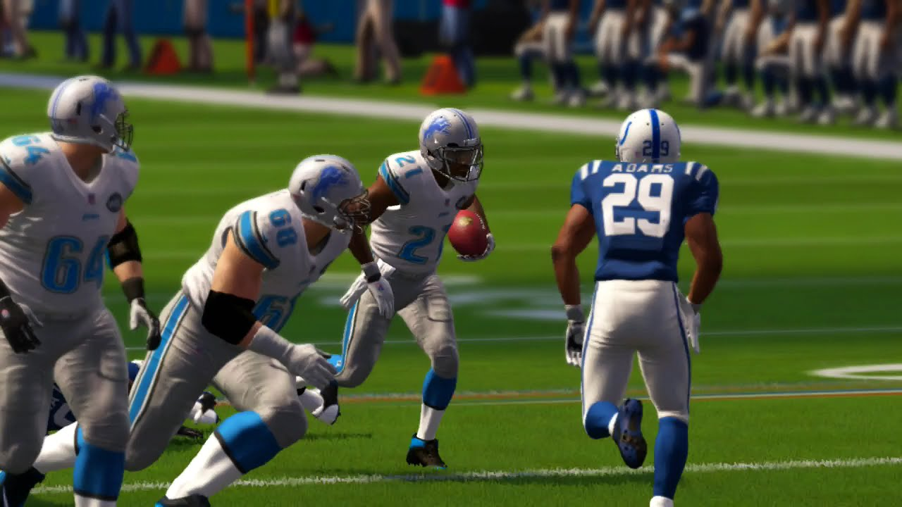 ebbaadd15 Madden NFL 17 Week 1 Detroit Lions vs Indianapolis Colts - YouTube