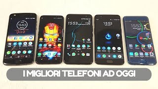 TUTTI INSIEME! I migliori smartphone ad oggi (o quasi)