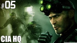 "Splinter Cell (2002) Part 5 (Lvl.4) ""Cia HQ"" Gameplay Playthrough PC Version"