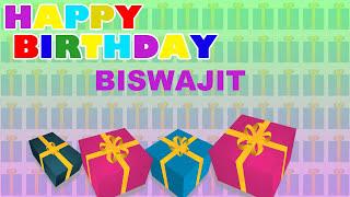 Biswajit - Card Tarjeta_506 - Happy Birthday