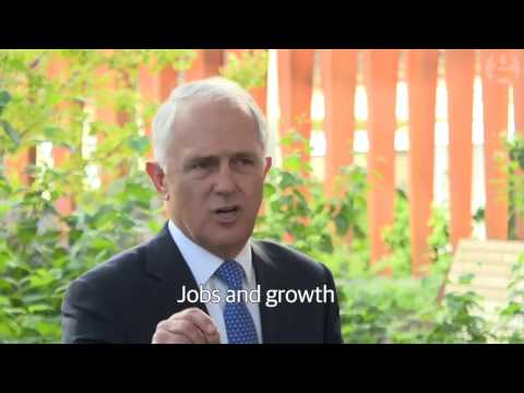 [Guardian 160513] Job and Growth with Malcolm Turnbull
