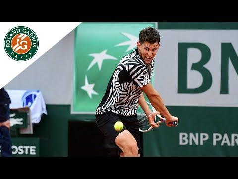 Dominic Thiem v David Goffin Highlights - Men's Quarterfinals 2016 | Roland-Garros