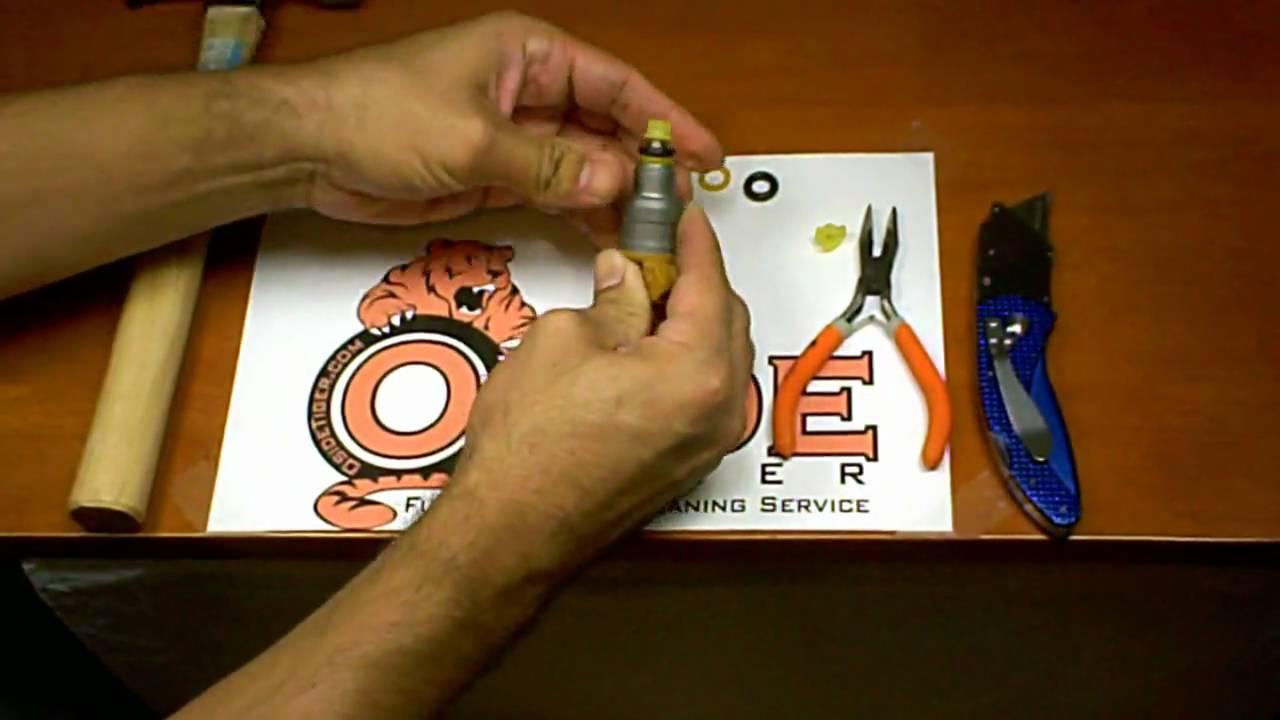 Fuel Injector Pintle Cap Installation Youtube Porsche 944 Wiring