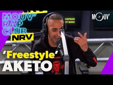 Youtube: AKETO: Freestyles  | Mouv' Rap Club NRV