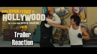 Once Upon a Time in Hollywood - Trailer Reaction