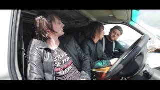 Trampolene interview and acoustic session for Gigslutz TV @ Strawberry Fields Festival