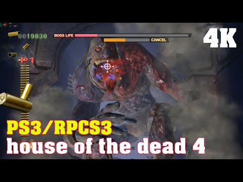 The House of the Dead 4 / 4K RPCS3 PS3 emulator / RTX 2080ti