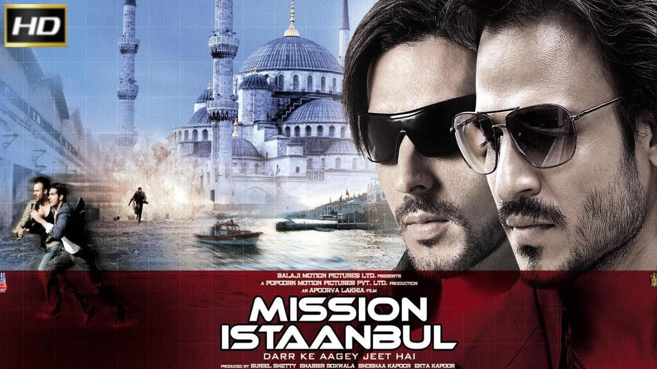 Download Mission Istaanbul 2008   Action Movie Zayed Khan, Vivek Oberoi