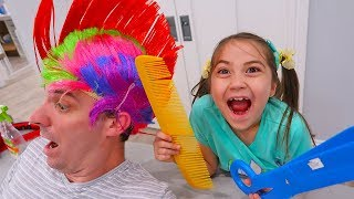 Pretend Play Salon with Giant Toys and More by Hailey!