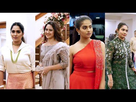 പാർവതി നമ്പ്യാരുടെ റിസപ്ഷന് എത്തിയ താരങ്ങൾ | Celebrities At Parvathy Nambiar Wedding Reception