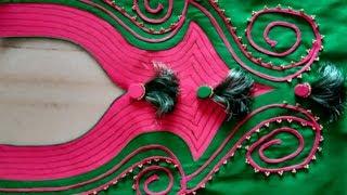 Beautiful Neck design making for kurti/ kameez