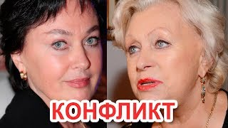 Лариса Гузеева публично оскорбила Вдову Караченцева за пьяный угар на поминках