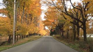 Drive Through Northeast Ohio in the Fall