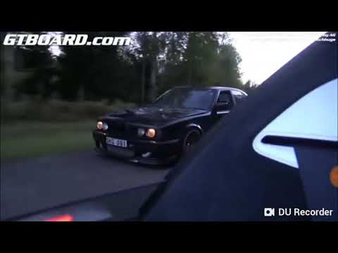Bmw M5 E34 900hp Vs BUGATTI VEYRON 1001 HP