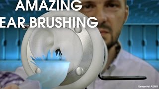 Amazing ASMR Ears Brushing