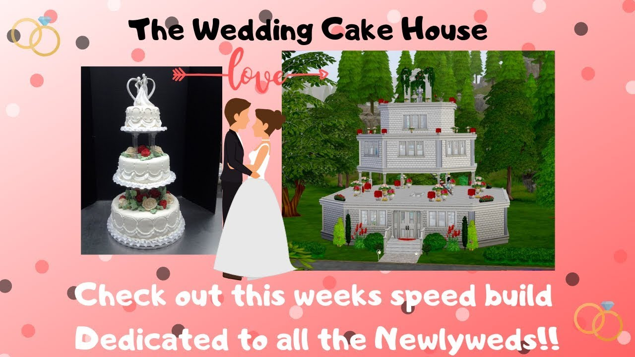 Sims 4 Wedding Cake.ღthe Wedding Cake House The Sims 4 Speed Buildღ