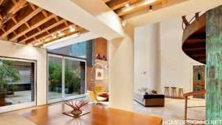 Remarkable Tribeca Loft In Ny  Orbiting  Around A Massive Stairway
