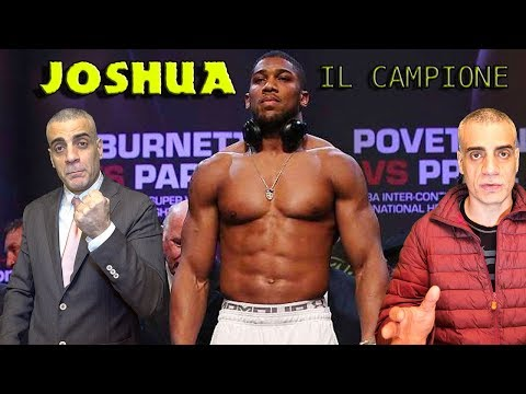 Anthony Joshua il campione dei pesi massimi