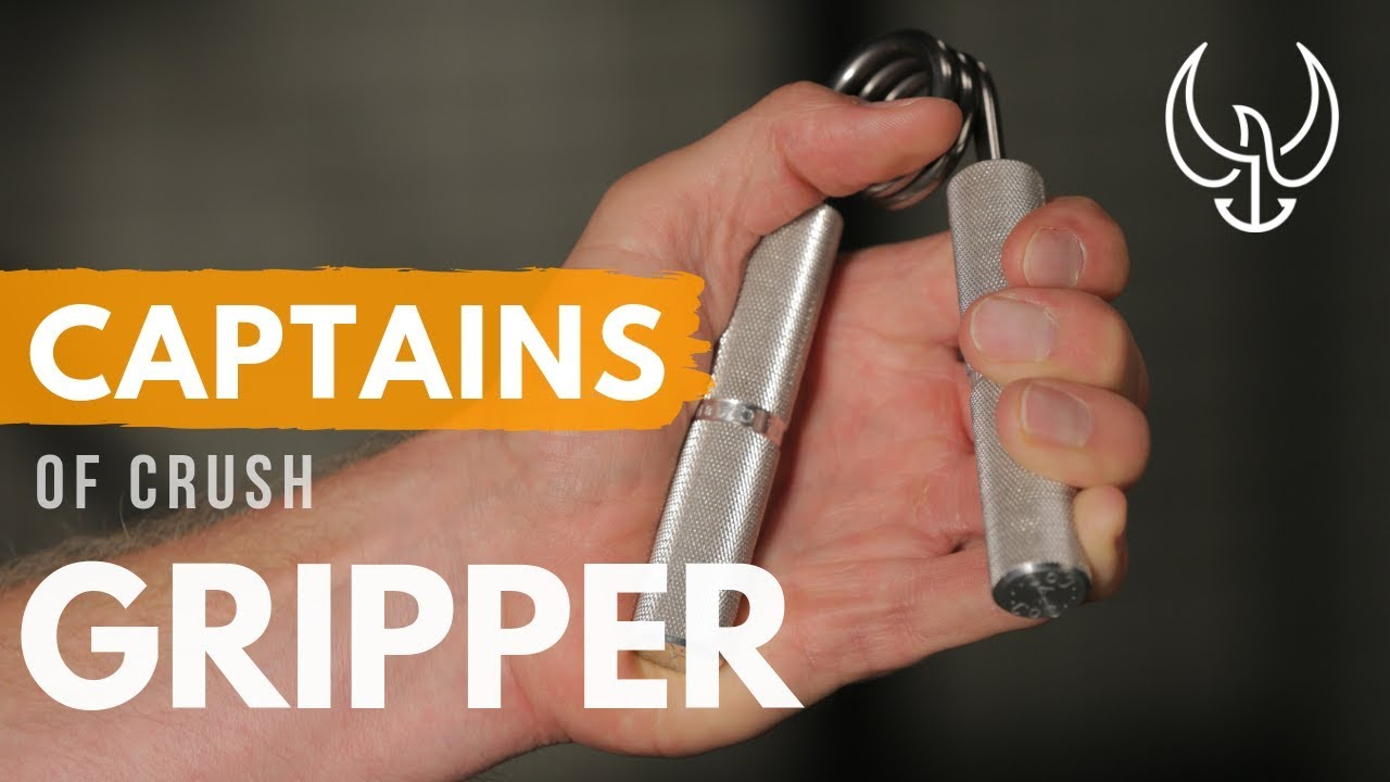 How to Use the Captains of Crush Hand Grip Strength Exerciser - YouTube
