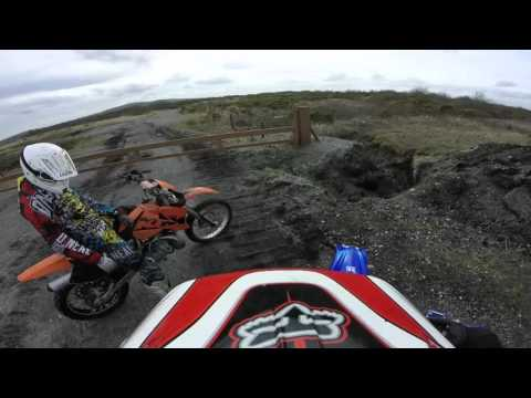 TO THE WINDMILLS AND BACK - MOTOCROSS