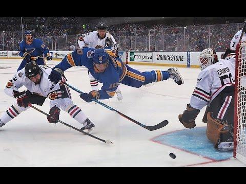 St. Louis Blues vs. Chicago Blackhawks Winter Classic Highlights (1/2/17)