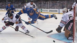 St. Louis Blues vs. Chicago Blackhawks Winter Classic Highlights (1/2/17)