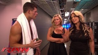 Natalya tries to help Kaitlyn find out her secret admirer: Raw, May 20, 2013
