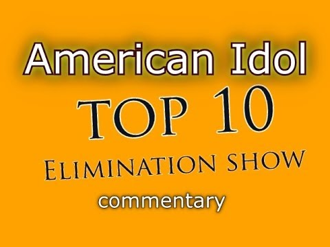 American Idol Top 10 Results Show (commentary)