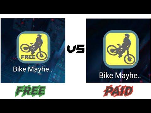 BIKE MAYHEM FREE VS BIKE MAYHEM PAID    PRO GAMER MIDHUN