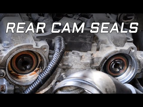Volvo 2.4t Rear Cam Seal Replacement