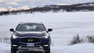 2017 Infiniti QX30 AWD Winter Test Drive