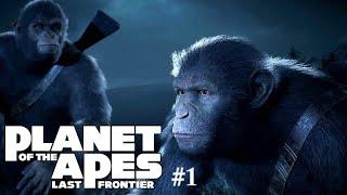Планета обезьян : Последний рубеж | Прохождение #1