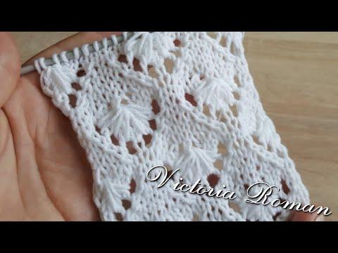 Modele tricotate manual ajurate