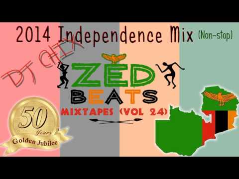 ZedBeats Mixtapes (Vol. 24) - 2014 Golden Jubilee Independence Mix (Non-Stop Zambian Music)