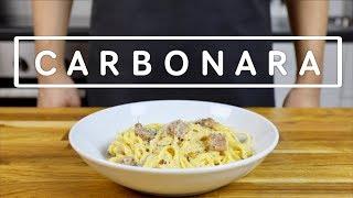 Ni frågade om det: Carbonara!