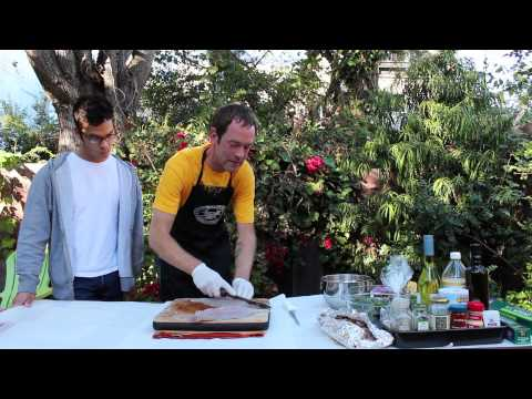 A Drink With Friends TV- Filleting Fish And Pairing Wine With