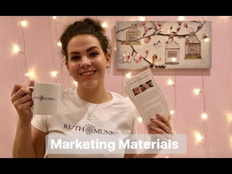 How I market myself as a nail technician | Marketing materials haul | Vistaprint haul