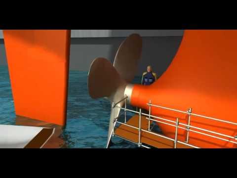 AEGIR-Marine: Under water installment of a net cutter